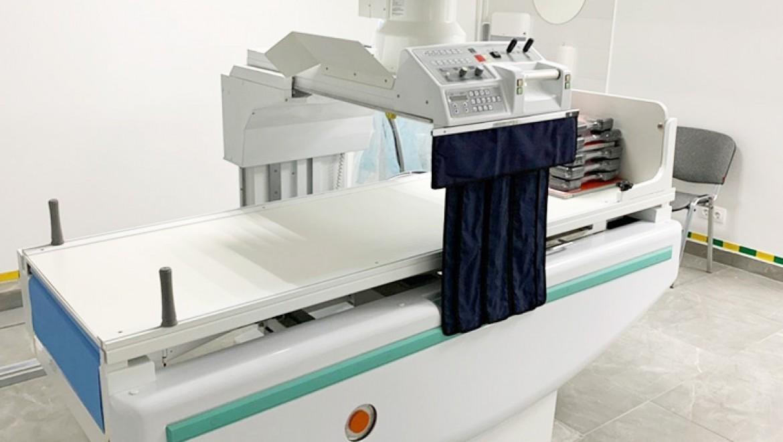 Оснащение рентген отделения Многопрофильного лечебно-оздоровительного комплекса «Matreshka Plaza»